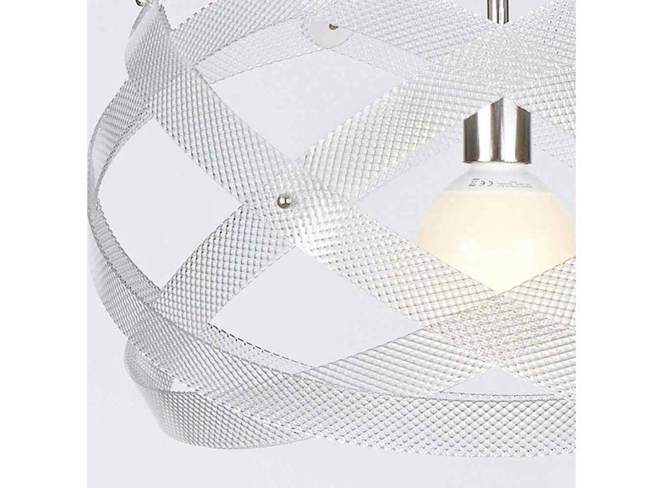 Lampada a sospensione design moderno in metacrilato diam.53 cmVanna