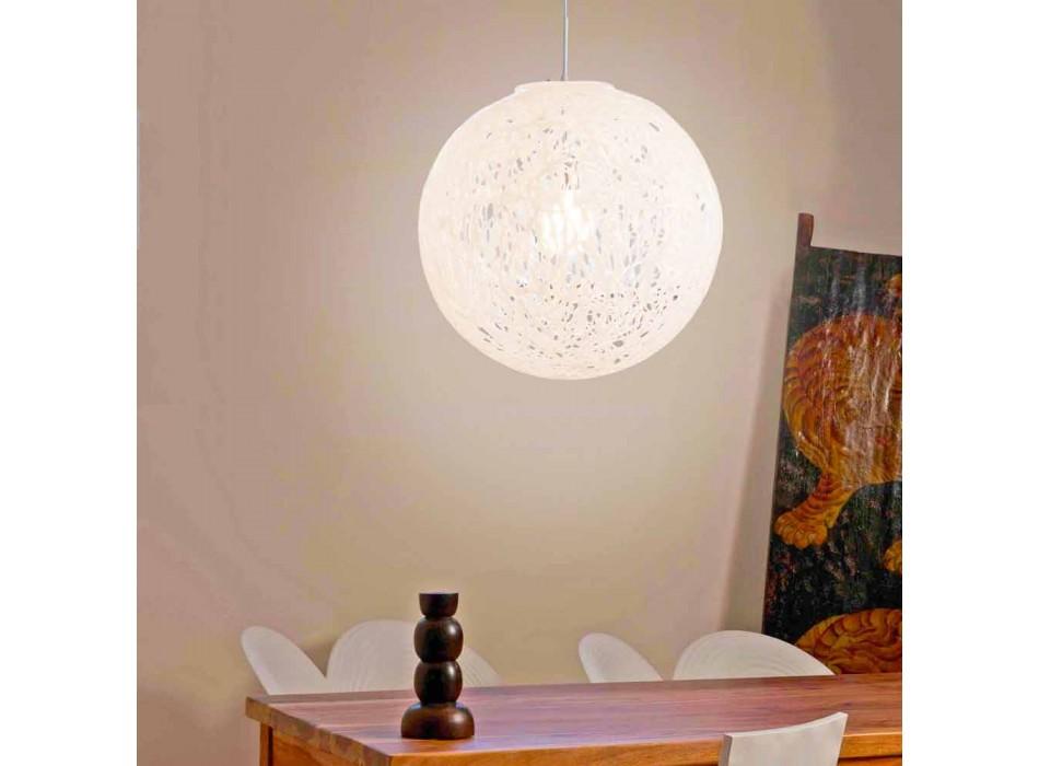 Lampada a sospensione design moderno made in Italy Mady, diam. 48cm