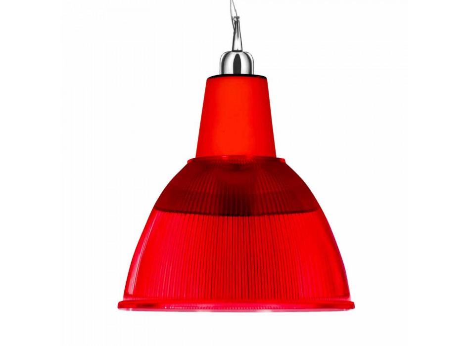 Lampada a sospensione design moderno Rainbow made in Italy