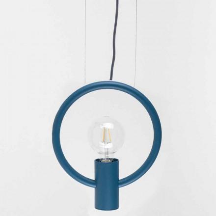 Lampada a Sospensione di Design in Acciaio Made in Italy - Delizia