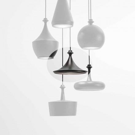 Lampada a Sospensione a LED in Ceramica- Lustrini L1 Aldo Bernardi