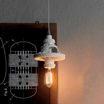 Lampada a Sospensione in Ceramica in 3 Finiture di Design Moderno - Futurismo
