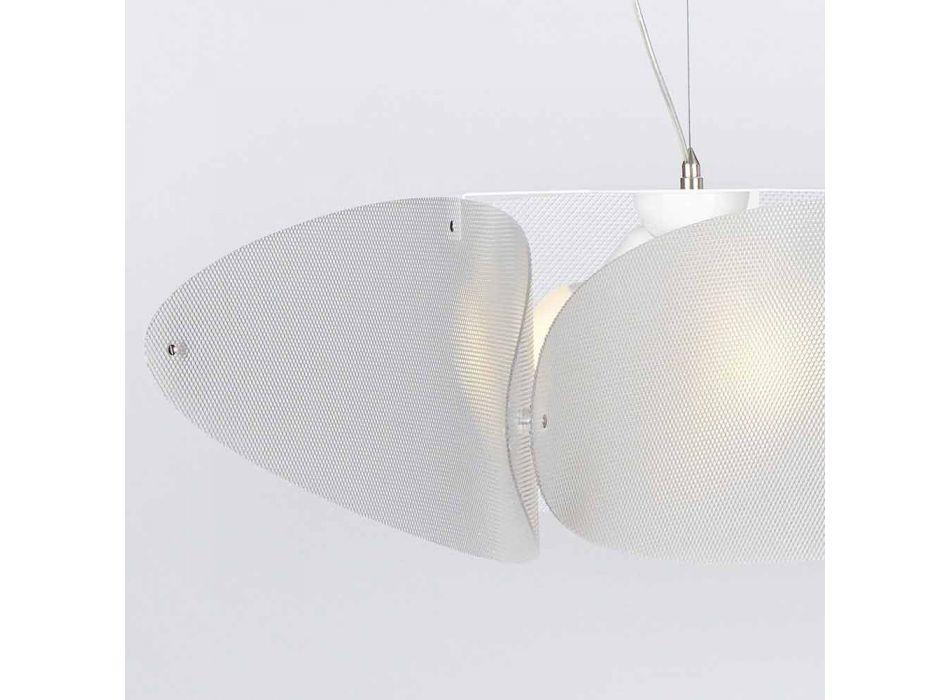 Lampada a sospensione in metacrilato moderno, diametro 116 cm,Taire