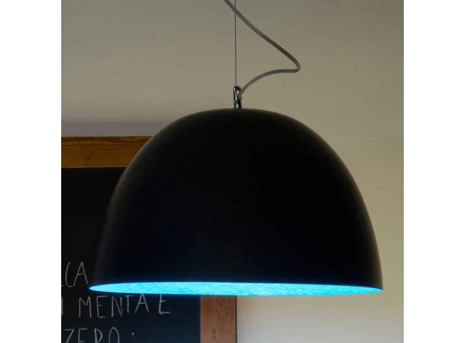 Lampada a sospensione in resina In-es.artdesign H2o Lavagna moderna