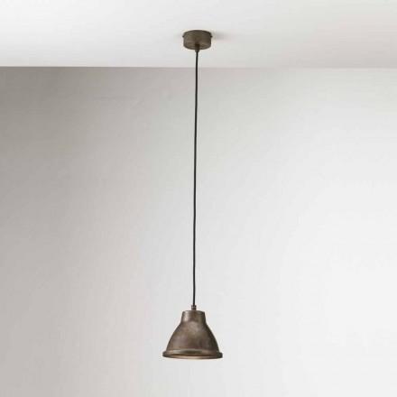 Lampada a sospensione industriale in ferro Loft Mini Il Fanale
