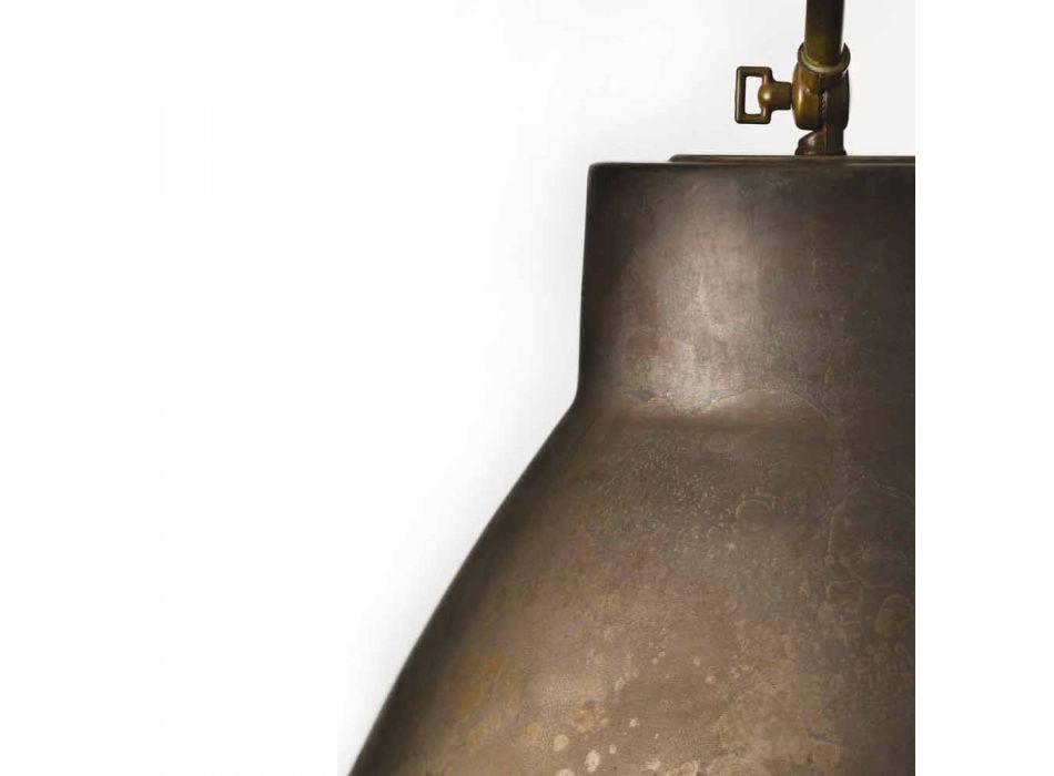 Lampada a sospensione industriale in ferro Loft Piccola Il Fanale