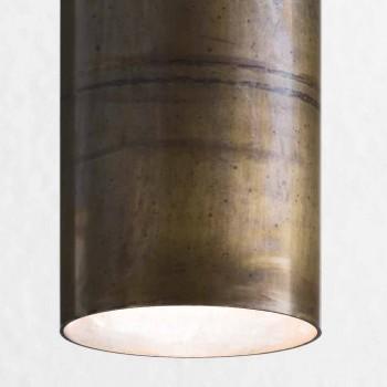 Lampada a sospensione industriale Ø10 cm Girasoli Il Fanale