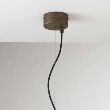Lampada a sospensione industriale vintage Loft Grande Il Fanale