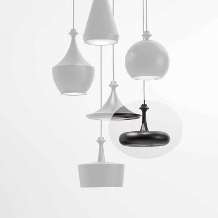 Lampada a Sospensione LED Made in Italy in Ceramica – Lustrini L4 Aldo Bernardi