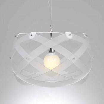 Lampada a sospensione moderna in metacrilato diametro 40 cm Vanna