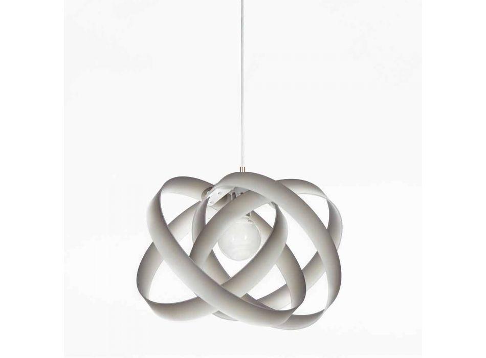 Lampada a sospensione moderna in metacrilato Ferdi, diametro 56 cm