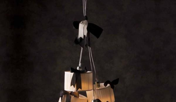 Lampade Da Soffitto Vintage : Lampada a sospensione vintage a luci chanel