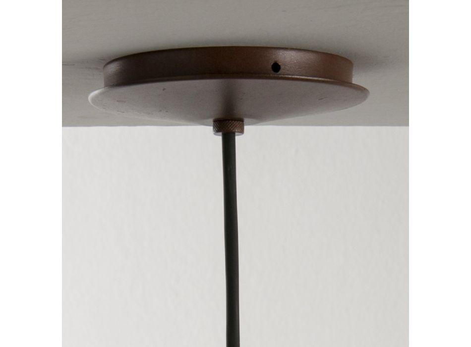 Lampada Artigianale in Poliestere e Alluminio Made in Italy - Toscot Junction