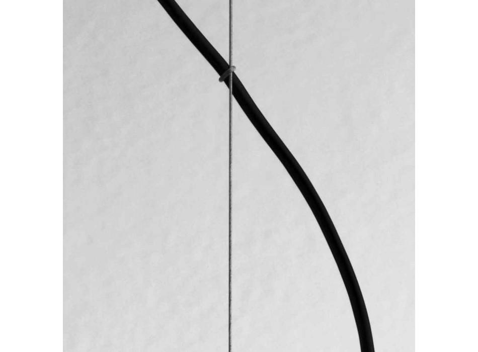Lampada cilindrica a sospensione Ø8 Girasoli Il Fanale