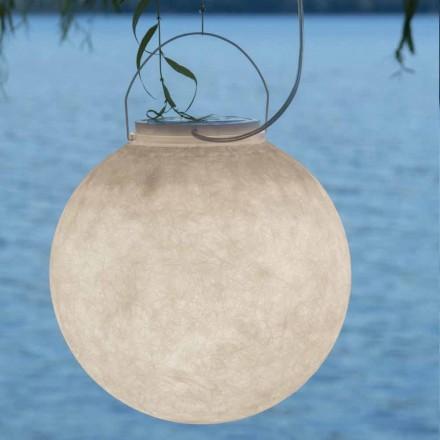 Lampada da esterno a sospensione In-es.artdesign Luna Out in nebulite