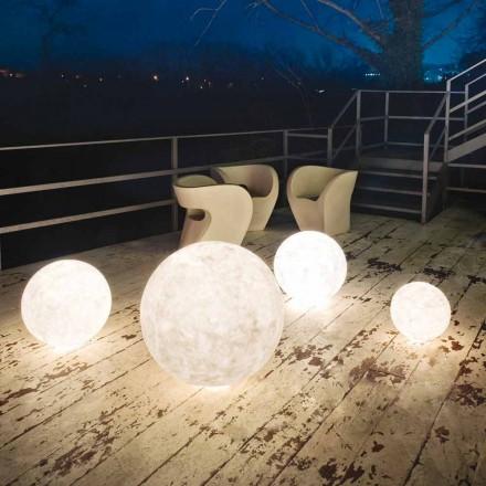 Lampada da esterno da terra In-es.artdesign Ex.Moon in nebulite