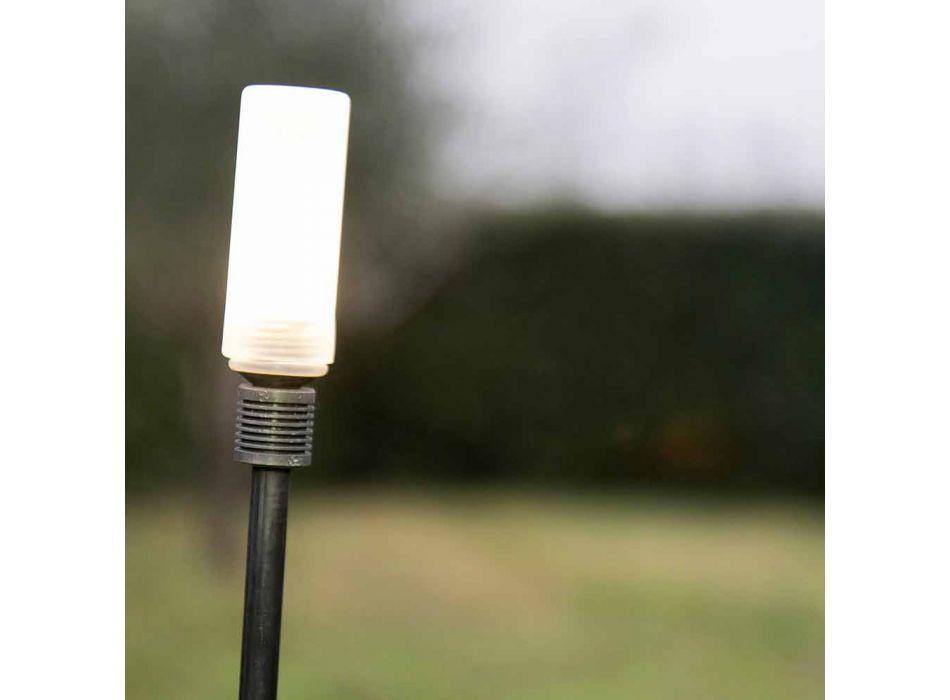 Lampada da Esterno in Ferro Verniciato Design Minimale Made in Italy - Filo