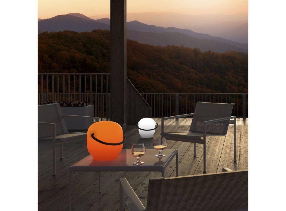 Lampada da Giardino in Polietilene con Maniglia Made in Italy - Galizia