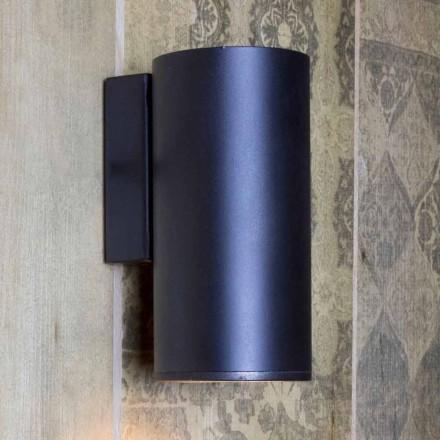 Lampada da Parete Artigianale a Forma Cilindrica in Ferro Made in Italy - Gemina