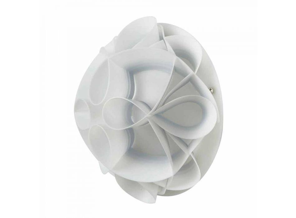 Lampada da parete con calotta design moderno,diametro 28 cm,Lena