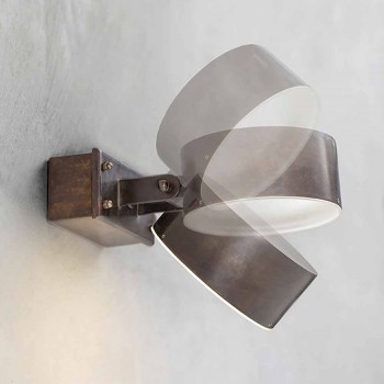 Lampada da Parete da Esterno in Ottone Made in Italy – Acelum Aldo Bernardi