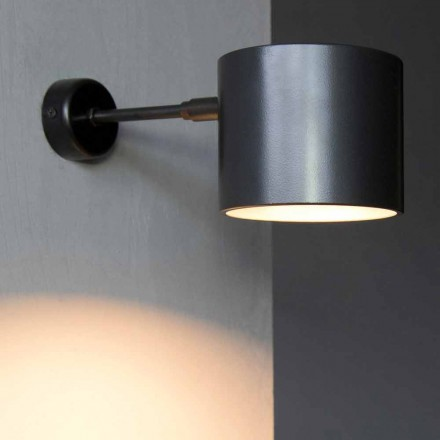 Lampada da Parete in Ferro e Alluminio Artigianale Made in Italy - Trema