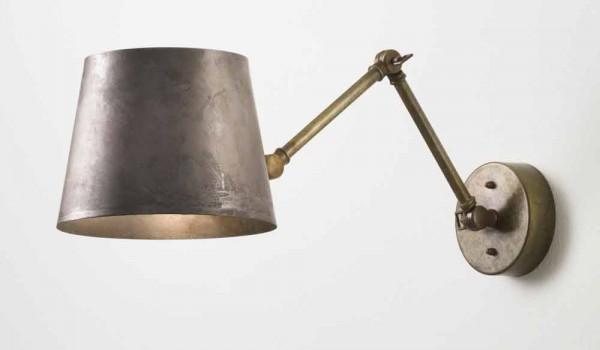 Lampada da parete industriale regolabile reporter il fanale