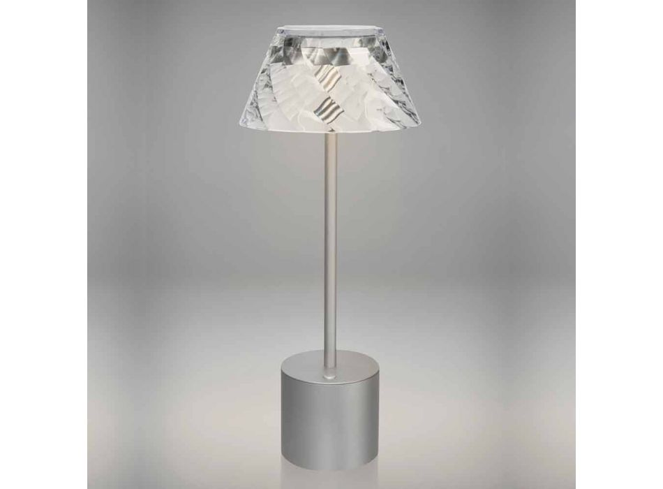 Lampada da Tavolo a Led Touch di Design in Metallo e Acrilico - Tagalong