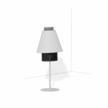 Lampada da Tavolo con Struttura in Metallo Design Moderno Made in Italy - Sailor