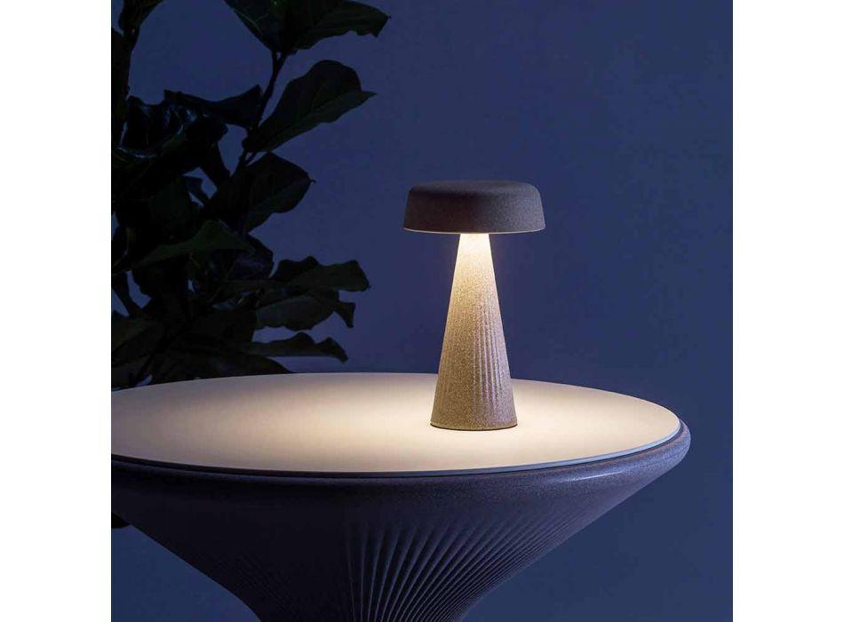 Lampada da Tavolo con Struttura in Polietilene Made in Italy - Desmond