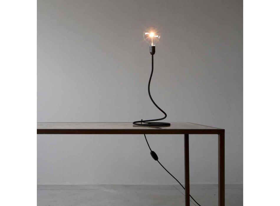 Lampada da Tavolo con Struttura in Rame Design Moderno Made in Italy - Minimo