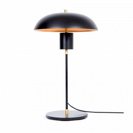 Lampada da Tavolo Design Artigianale in Ferro e Alluminio Made in Italy - Marghe