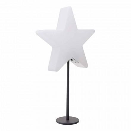 Lampada da Tavolo Design Moderno, a Stella con o senza Piedistallo - Littlestar