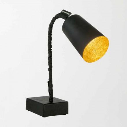 Lampada da tavolo In-es.artdesign Paint T2 lavagna stelo flessibile
