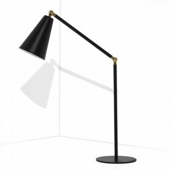 Lampada da Tavolo Moderna con Struttura in Metallo Made in Italy - Zaira