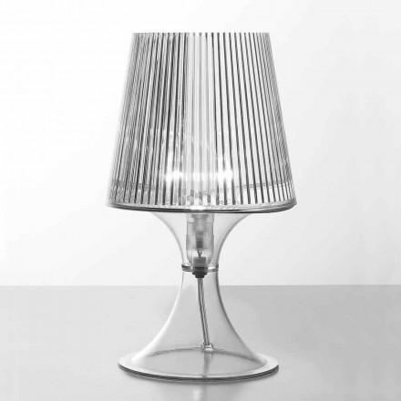 Lampada da tavolo moderna in policarbonato trasparente Frosinone