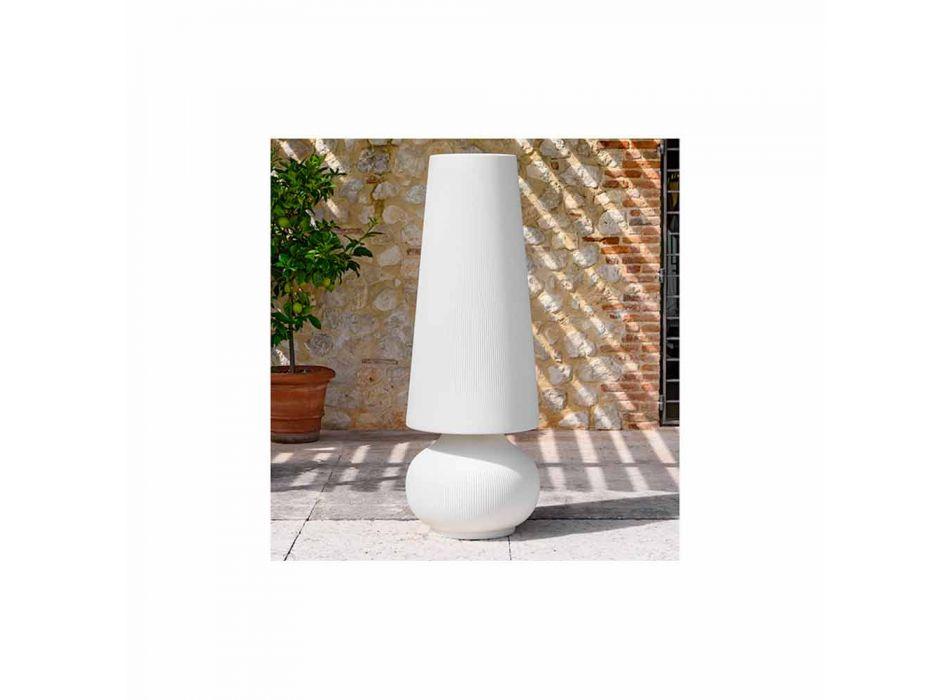 Lampada da Terra da Esterno con Struttura in Polietilene Made in Italy - Desmond