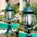 Lampada da terra da giardino in alluminio prodotta in Italia, Anika