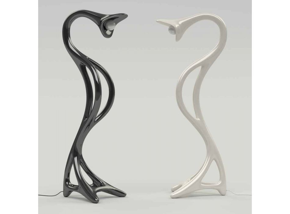 Lampada da terra design moderno Drago made in Italy