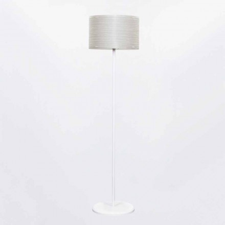 Lampada da terra design moderno made in Italy Debby, diametro 45 cm