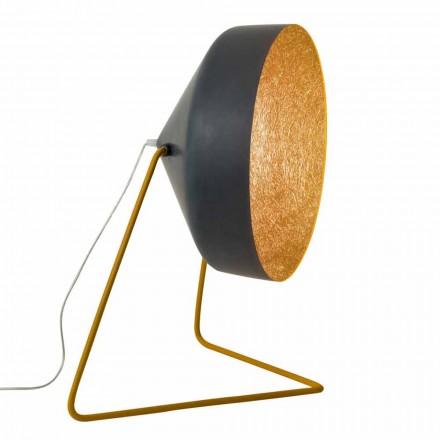 Lampada da terra di design In-es.artdesign Cyrcus F Lavagna in resina