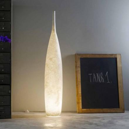Lampada da terra H142cm moderno design In-es.artdesign Tank 1 colorata