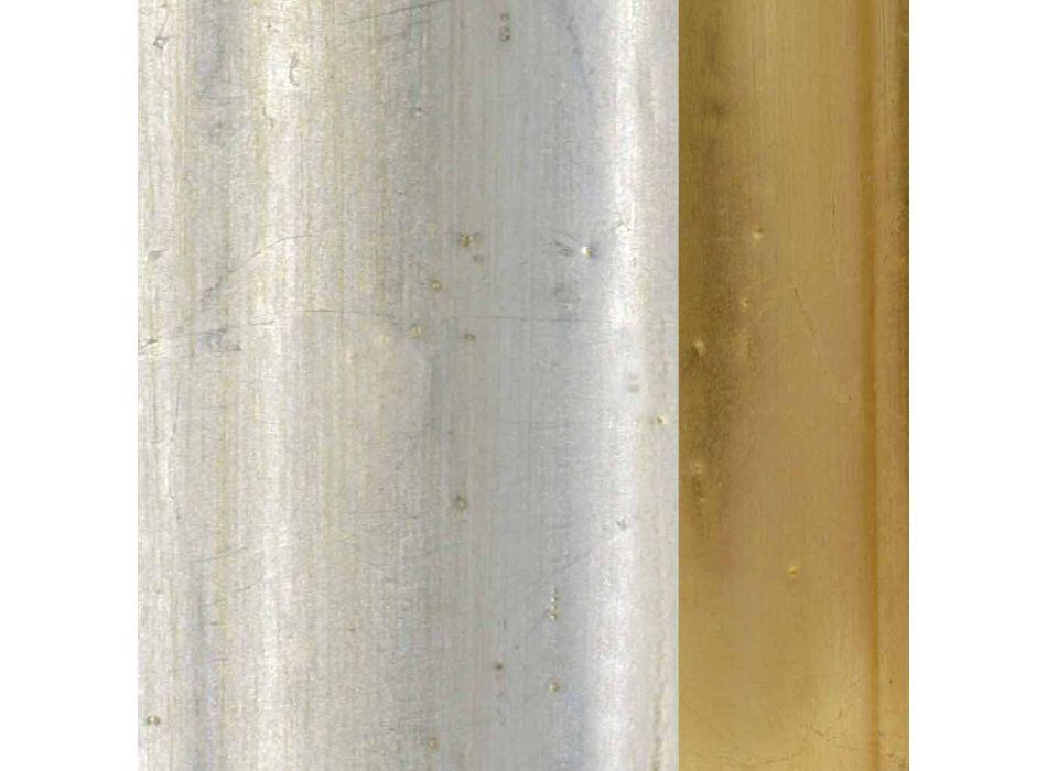 Lampada da terra in legno prodotta a mano in italia Rocco