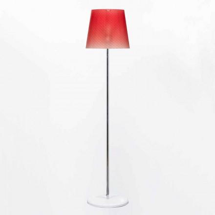 Lampada da terra in policarbonato di design diametro 42 cm Rania