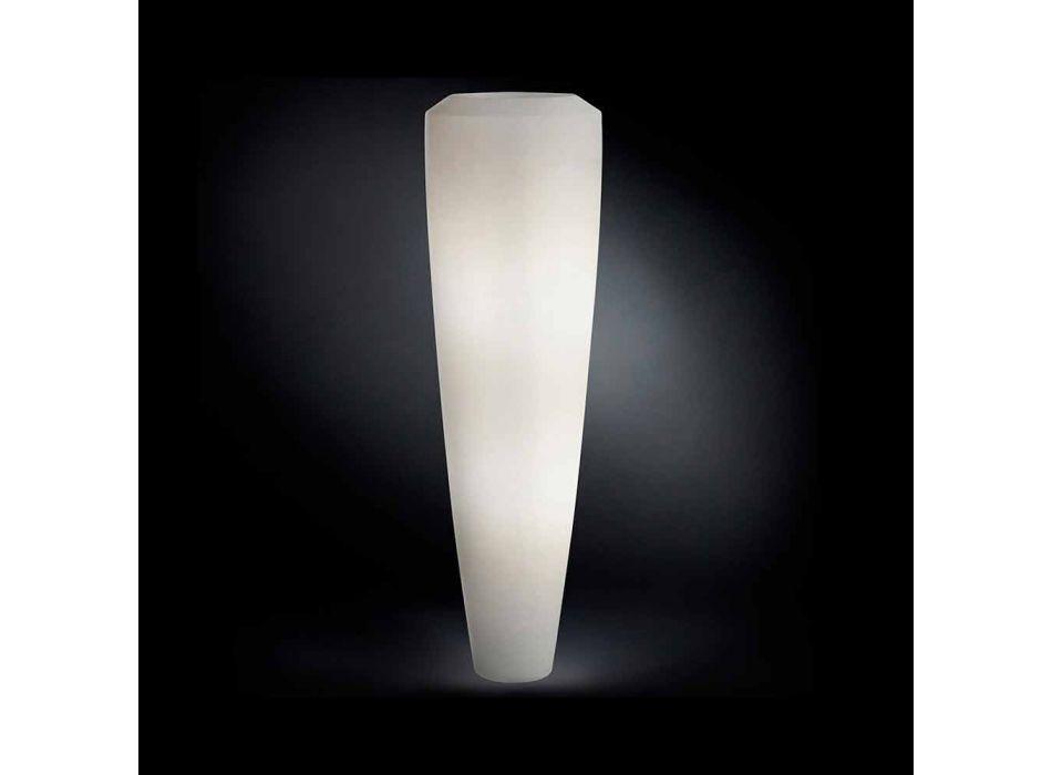 Lampada da terra moderna a Led per interni in Ldpe Obice Big
