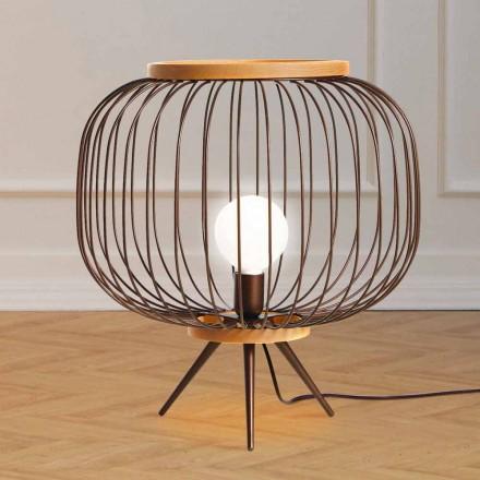 Lampada da terra moderna di design in acciaio 48xH 52 cmLeira