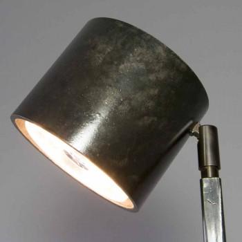 Lampada da Terra Moderna in Ferro e Alluminio Nero Made in Italy - Osiride