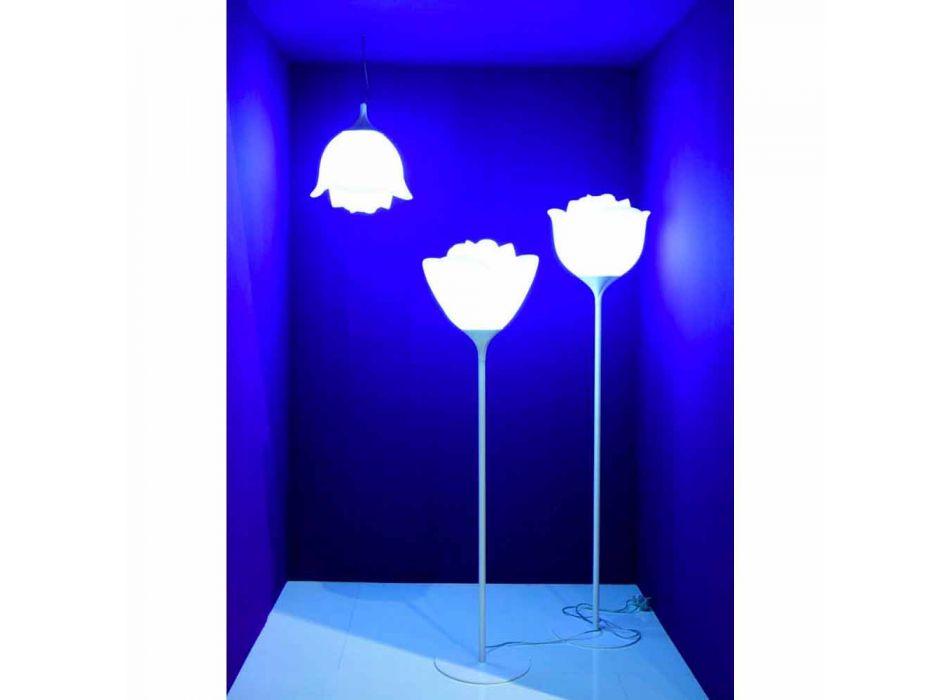 Lampada da Terra per Esterni di Design a Fiore in Plastica - Baby Love by Myyour