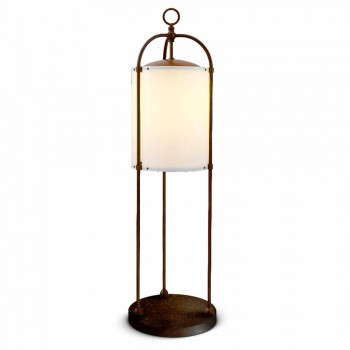 Lampada da terra per esterno  in ottone Pitosforo