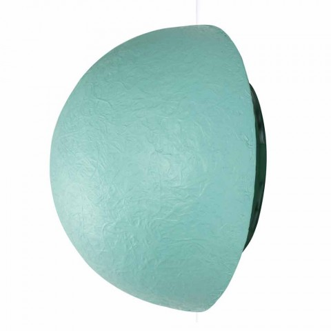 Lampada di design a muro In-es.artdesign Button in colorata nebulite